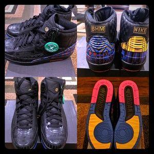 Air Jordan 2 Retro BHM Authentic Jordans